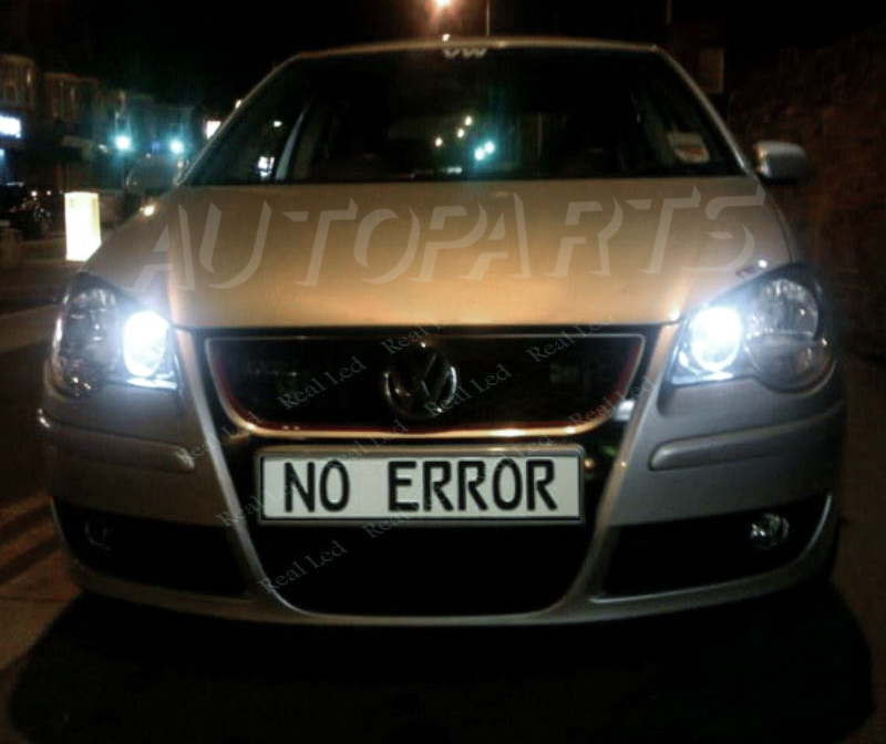 7 Led Xenon White 501 T10 W5w Sidelight Bulbs Honda Civic Type R Vtec